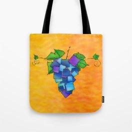 Jamurissa - square grapes Tote Bag