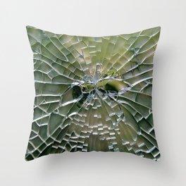 Craquelature Throw Pillow