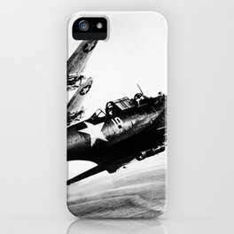 Vintage fighters iPhone Case