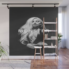 Lady Gaga's Portrait Monster Wall Mural