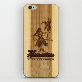 Tradewinds Hawaiian Island Hula Girl iPhone Skin