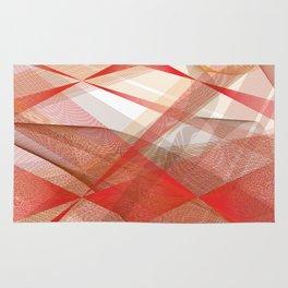 abstract fall Rug