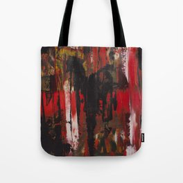 Trash Polka Abstract Tote Bag