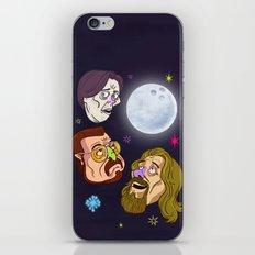 3 DUDE MOON iPhone & iPod Skin