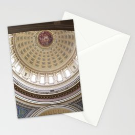 Wisconsin Capitol Building Rotunda 1 Stationery Cards