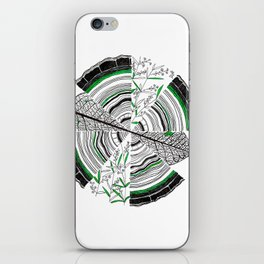 Age, Cells, and Pi iPhone Skin