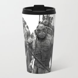 Green Teenage Heroes Travel Mug