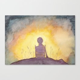 47 Sunsets Canvas Print