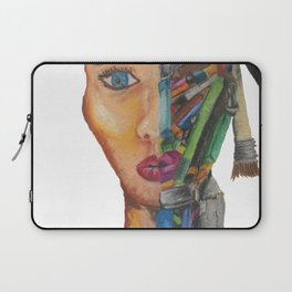 Self Portrait of an Artist Laptop Sleeve