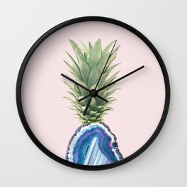 Agate Pinapple Wall Clock