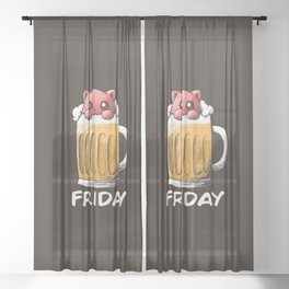 Friday Sheer Curtain