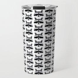 Teeny Tiny Coonie Pattern Travel Mug