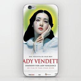 Lady Vendetta iPhone Skin