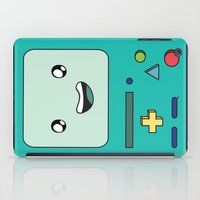 bmo iPad Cases featuring BMO by Kezarah