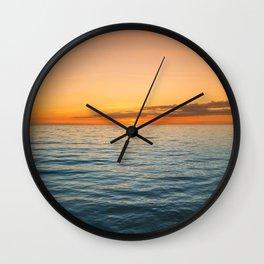 Brilliant Sunset Wall Clock