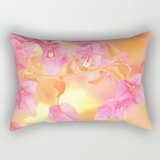 Sunny Bougainville(4) Rectangular Pillow