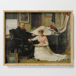 John Everett Millais - The North-West Passage Serving Tray