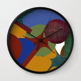COSMOS 3 Wall Clock