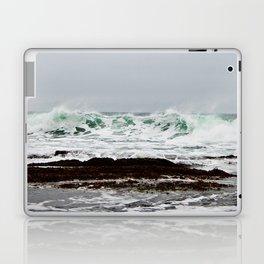 Green Wave Breaking Laptop & iPad Skin