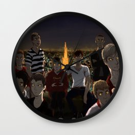 City Boys Wall Clock