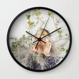 Interconnected II  Wall Clock