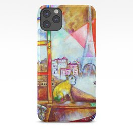 Marc Chagall Paris Through the Window iPhone Case
