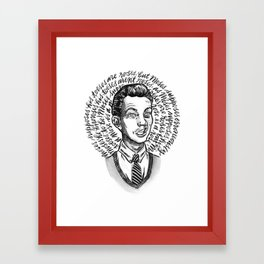 Moses Supposes Framed Art Print