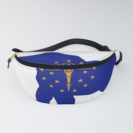 Indiana Republican Elephant Flag Fanny Pack