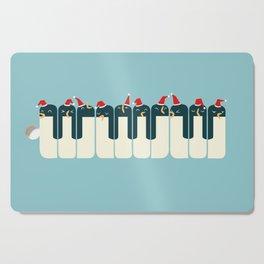 The Penguin Choir Cutting Board