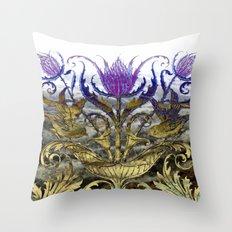 The Moors (Scottish Thistle) Throw Pillow