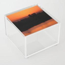 Nile Sunset Acrylic Box