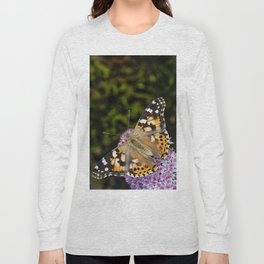 Painted Lady Butterfly 0923 Long Sleeve T-shirt