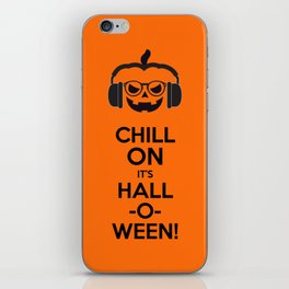 Chill on it's Hall-o-ween iPhone Skin