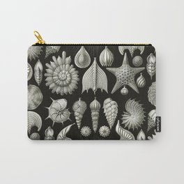Ernst Haeckel - Thalamphora (Seashells) Carry-All Pouch