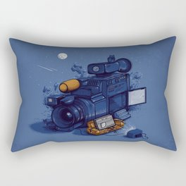 Movie Break Rectangular Pillow