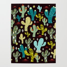 cactus land Poster