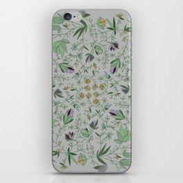 Floral Weave Multi iPhone Skin