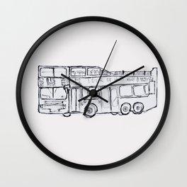 Big Bus Hong Kong Wall Clock