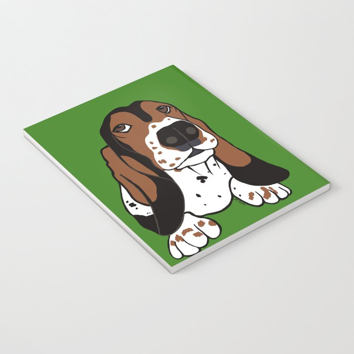 A Dog Mom and Her Basset Hound Notebook