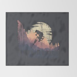 Ride The Trails Throw Blanket