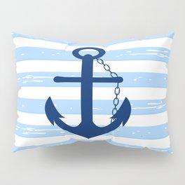 AFE Nautical Blue Ship Anchor Pillow Sham