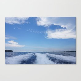 Goodbye Gili T Canvas Print