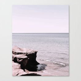 Beach Pink Canvas Print