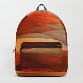 """Sea of sand and caramel waves"" Backpack"