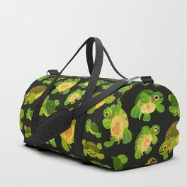 Red-eared slider (dark) Duffle Bag