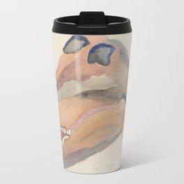 Baboon Skull Travel Mug