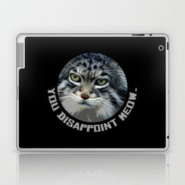 You disappoint Meow. Laptop & iPad Skin