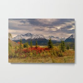 Seasons Turning Metal Print