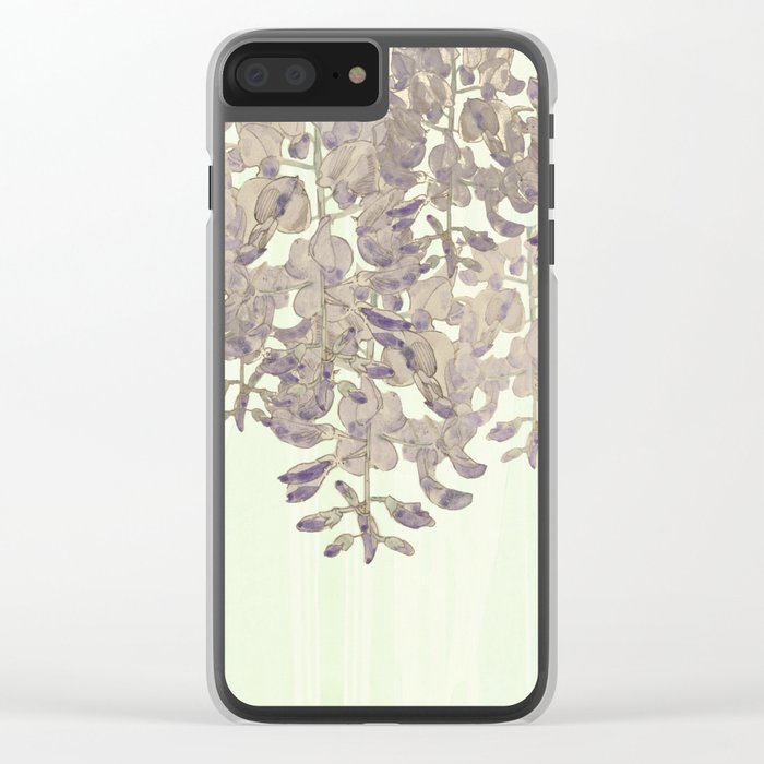 """""""A thing of beauty is a joy forever: Clear iPhone Case"""