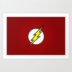 Flash - Digital Work Art Print